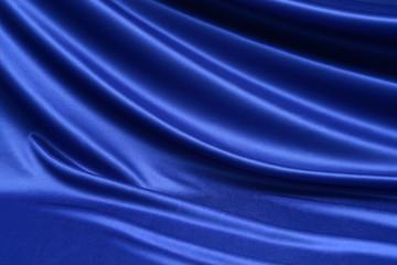 ブルー 布 ドレープ