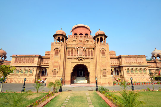 Laxmi Niwas palace in Bikaner,India