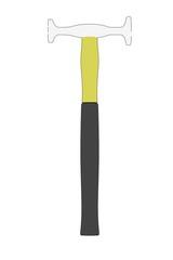 cartoon image of hammer tool