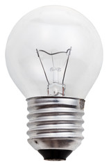 small incandescent light bulb