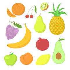 Fruit vector set