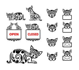 Cat Pattern Decoration