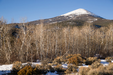 High Mountain Peak Great Basin Region Nevada Landscape