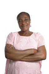 Freundliche afrikanische Mutter Portrait