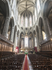 Narbonne, cathedral interior