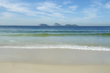 Ipanema Beach Rio de Janeiro Brazil Scenic