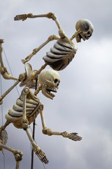 Skeletons of Traditional Day of the Dead, Mexico