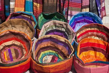 Fotobehang Marokko Essaouira - artigianato