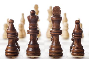 チェス盤と駒