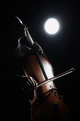 Poster Muziek Cello classical music cellist player