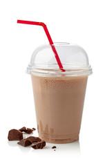 Fotobehang Milkshake Chocolate milkshake