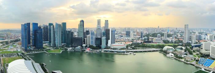 Foto op Plexiglas Singapore Singapore panorama