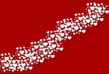 Decorative valentine's day card