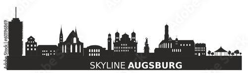 skyline augsburg stockfotos und lizenzfreie vektoren auf. Black Bedroom Furniture Sets. Home Design Ideas