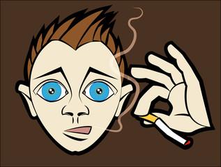 Smoking Kid