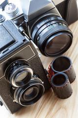Photo kit, closeup