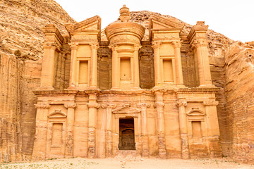 Ad Deir in the ancient Jordanian city of Petra.