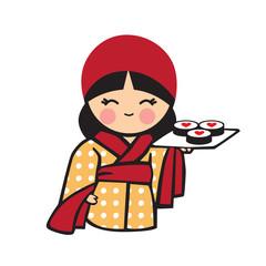 symbol for sushi