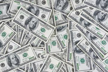 American dollars money background