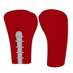 cartoon image of boxing gloves