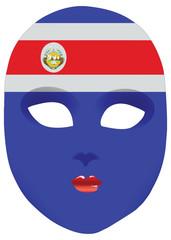 Costa Rica mask