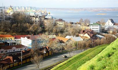 Autumn Nizhny Novgorod in october