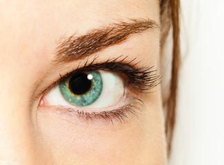 eye of girl