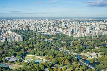 Türaufkleber Buenos Aires Palermo gardens in Buenos Aires, Argentina.