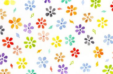 Wartercolor flowers