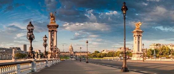 Pont Alexandre III & Hotel des Invalides, Paris