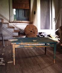 Abandoned Interior Living Room