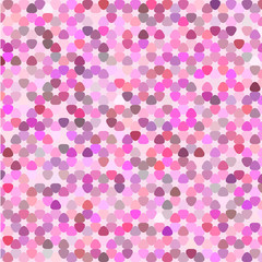 pink orchid geometric background vector