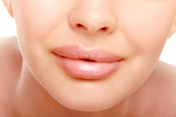 Woman's lips.