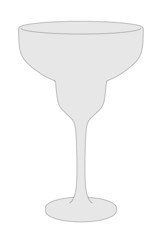 cartoon image of drink glass