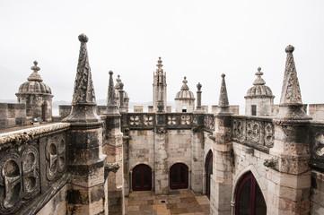 Belem tower detail in Lisbon, Portugal.