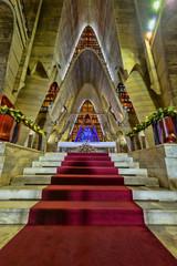 Interior Basilica of Nuestra Senora de la Altagracia at Republic