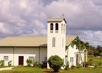 Countryside Church in Punta Cana Dominican Republic