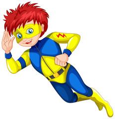A male superhero