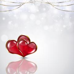 Valentine White Background