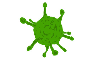 infektiöser Partikel Viren Virus