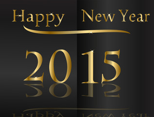 New Year-Golden