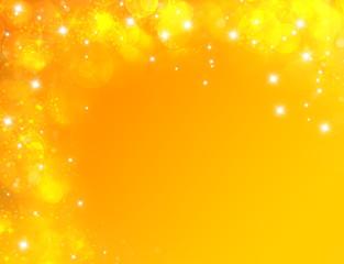 Fond d'écran jaune carte anniversaire étoilé