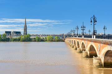 Bordeaux at a sunny day