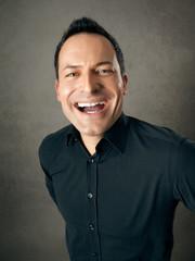 male portrait joy