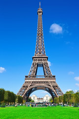Fotomurales - Eiffel Tower in Paris