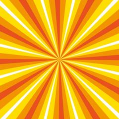 Retro pop sunburst background.