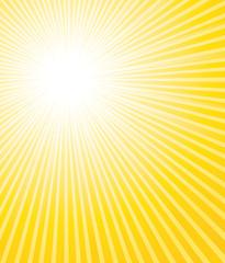 Beautiful sunburst background.