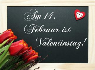 Erinnerung an Valentinstag
