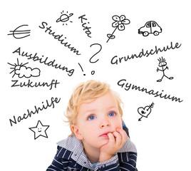 Zukunftswünsche eines Kindes