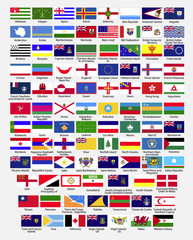 Flags of the world, part 2, collection